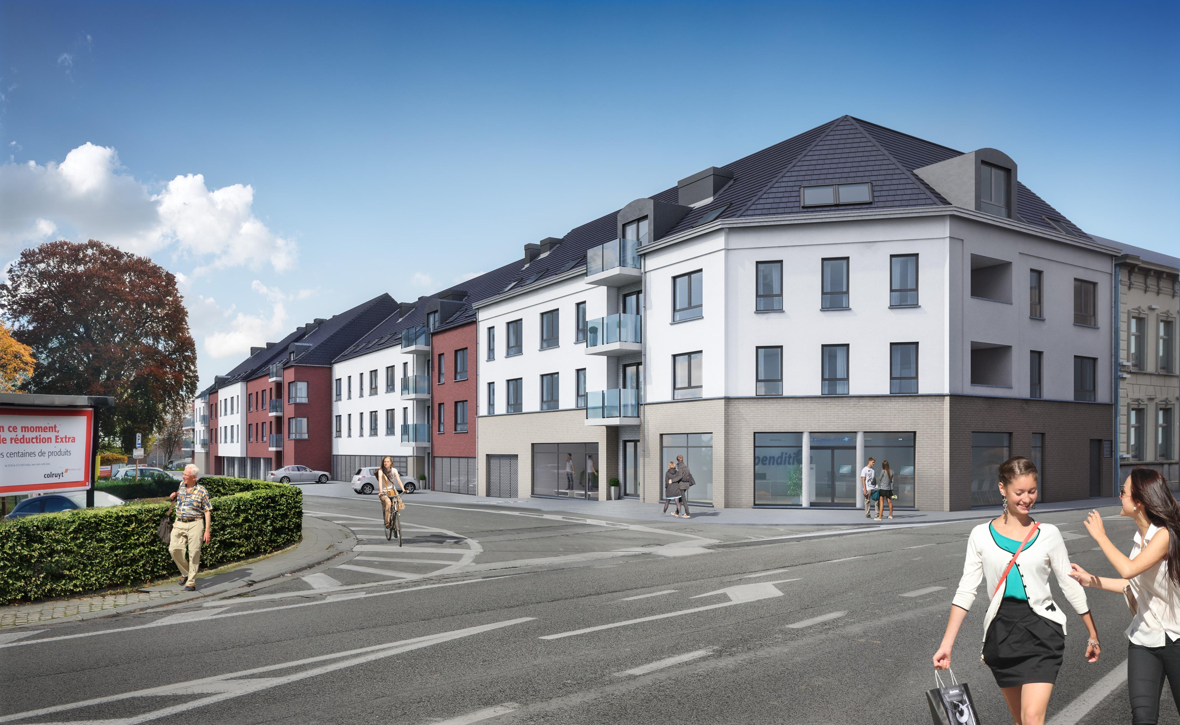 Cfa projet immobilier r sidences la bonneterie blocs for Projet appartement